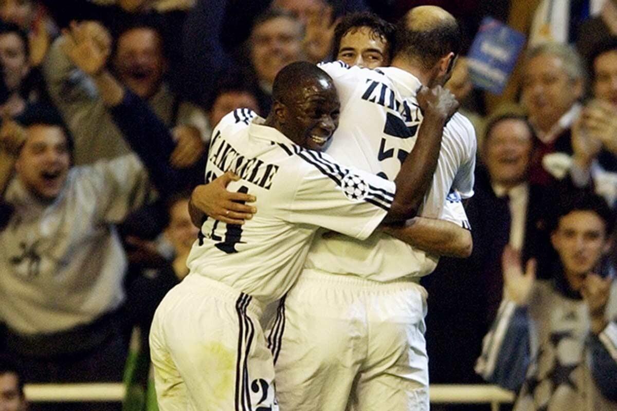 Makélélé y Zidane