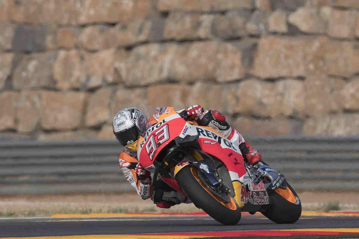 Márquez deja a un lado 'la calculadora' para volver a ganar en España
