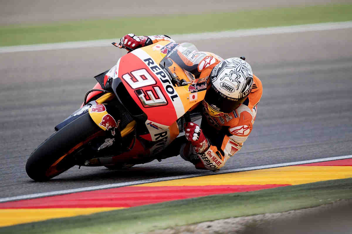 Márquez iguala a Lorenzo como el piloto con más poles del Mundial