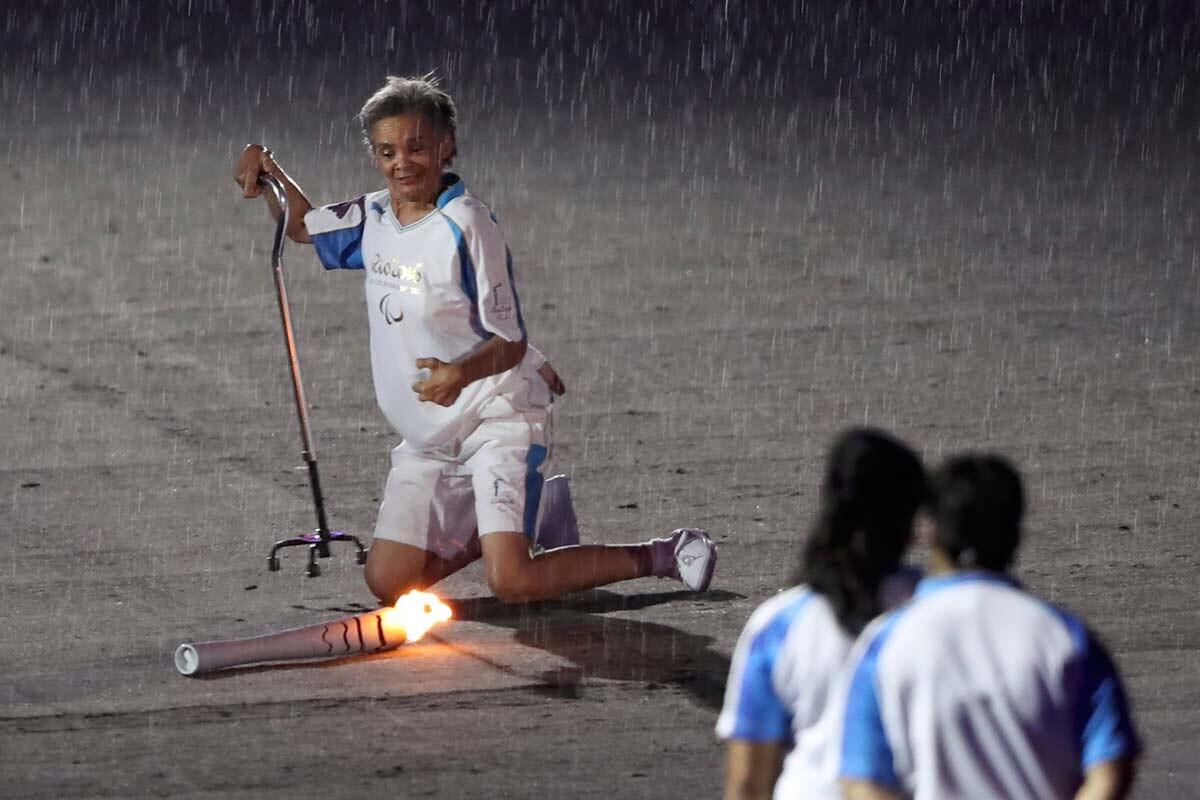 Marcia Marsal, atleta paralímpica