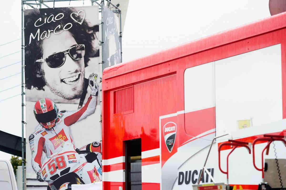 El número 58 de Simoncelli será retirado oficialmente en Misano