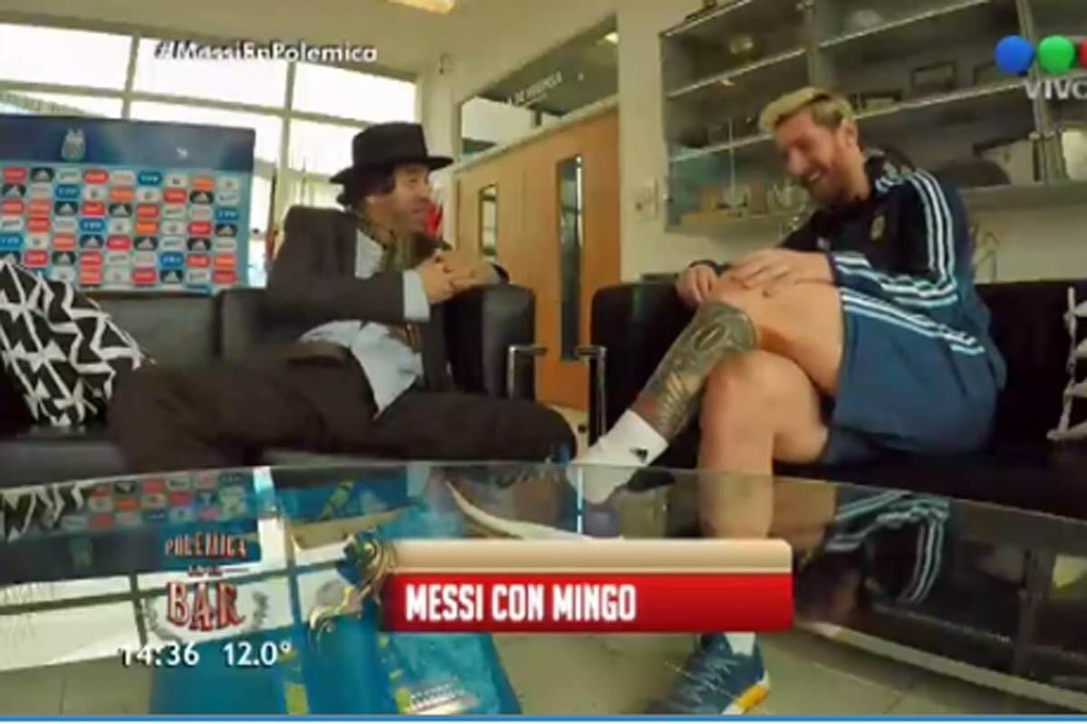 Messi con Mingo