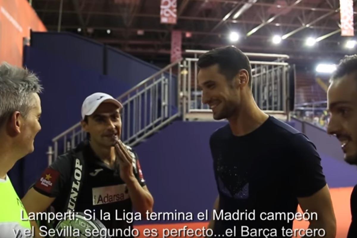 Sergio Rico y Pablo Sarabia con 'Bela' y Lamperti