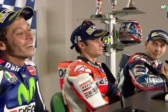 Bronca entre Rossi y Lorenzo en Misano