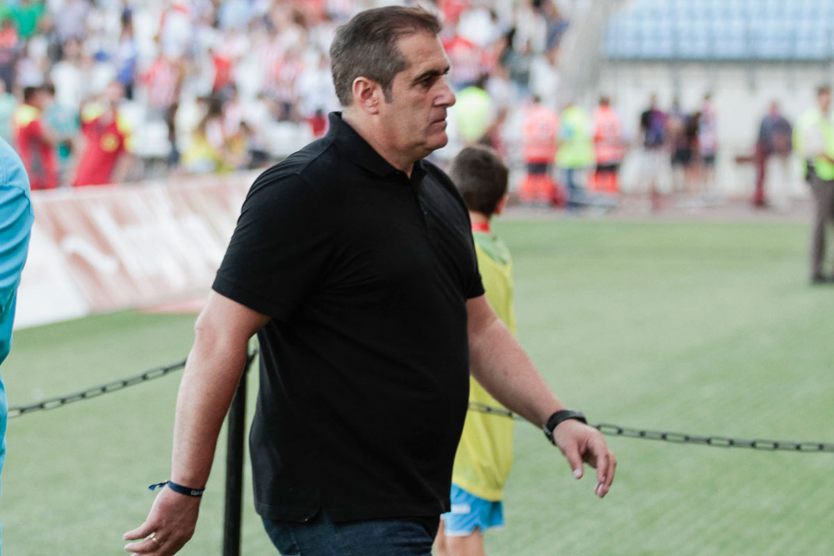 José Ramón Sandoval, entrenador del Rayo