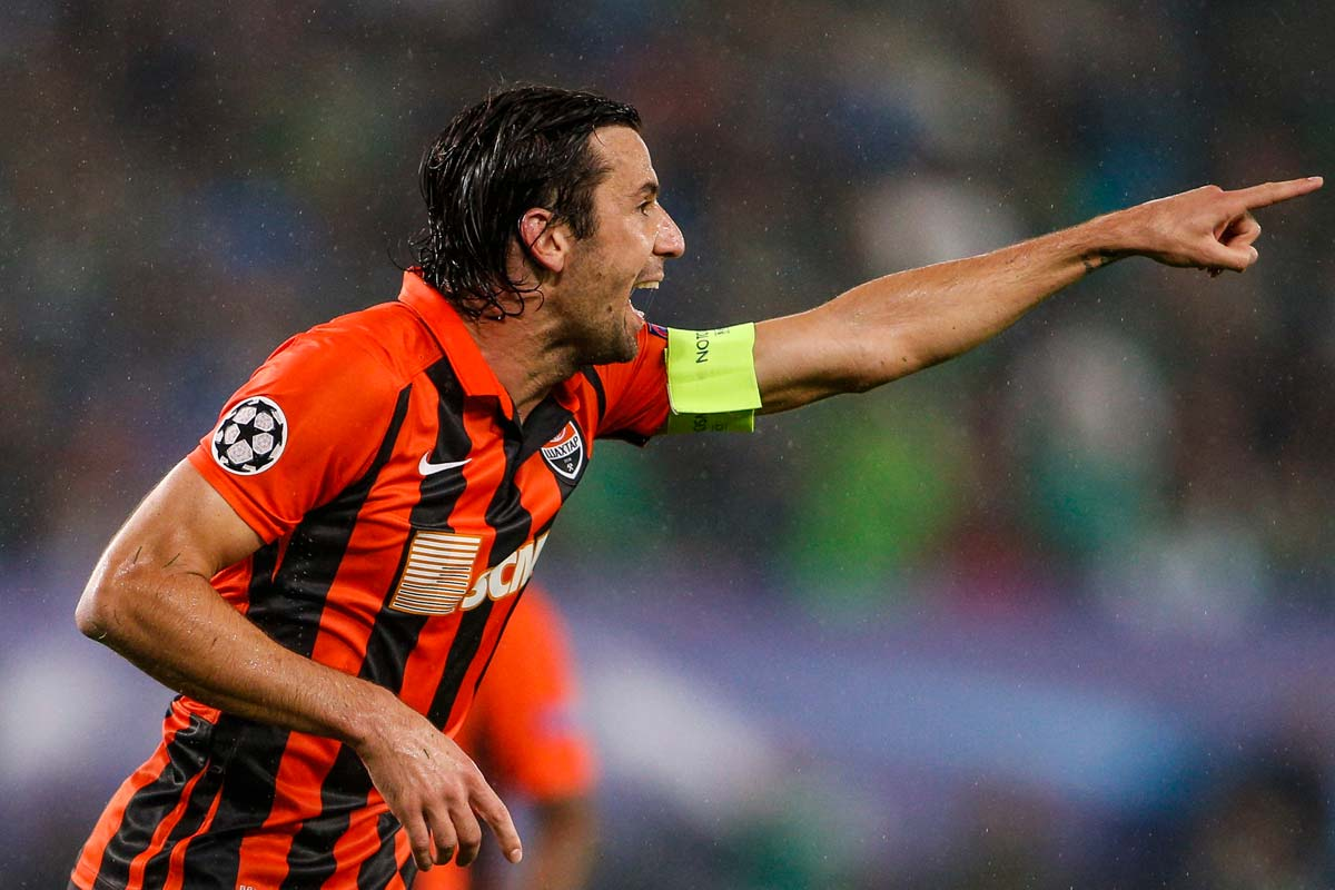 Darijo Srna, jugador del Shakhtar Donetsk