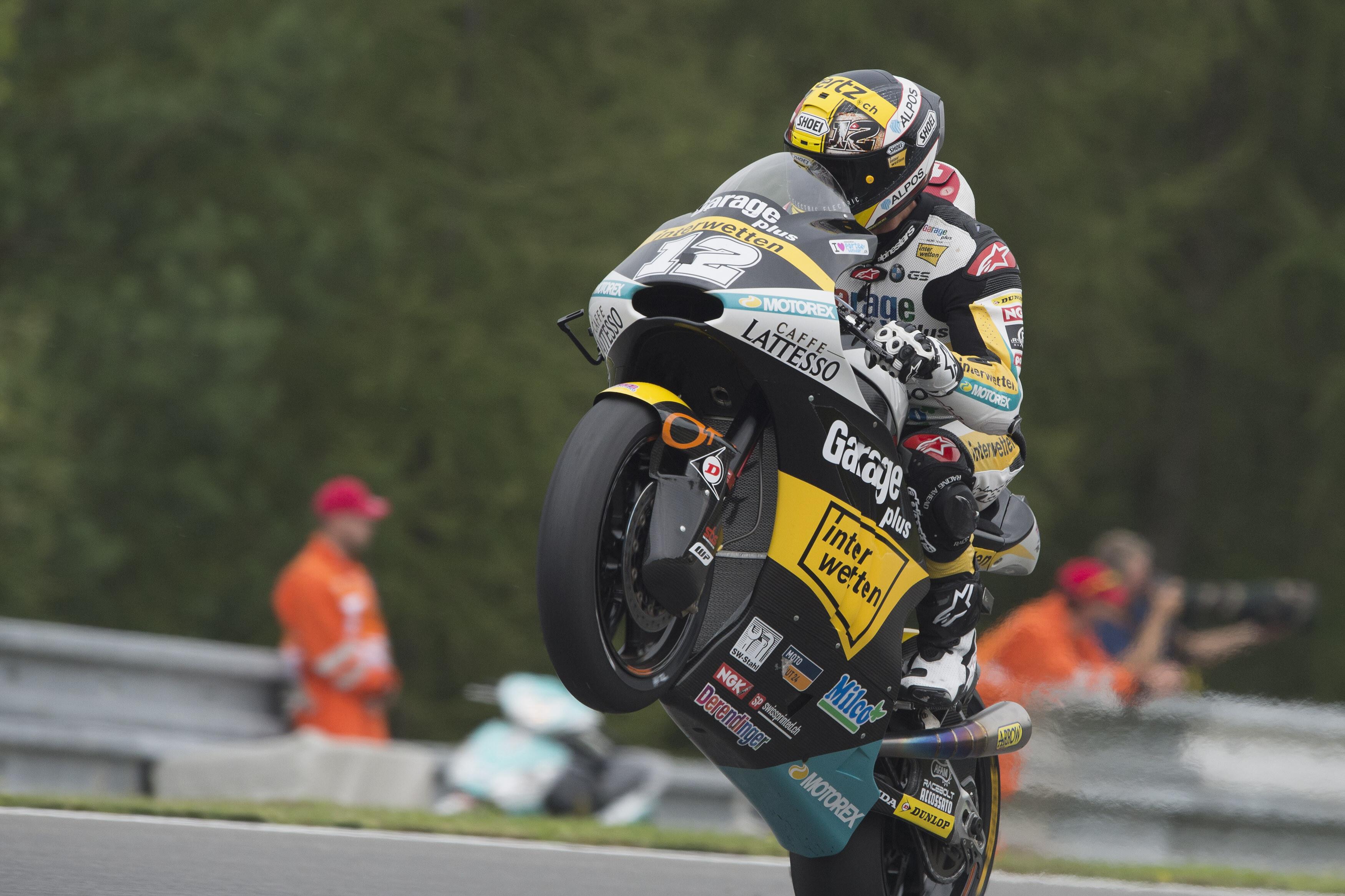 Thomas Luthi regresa a Moto2 con una victoria bajo el brazo