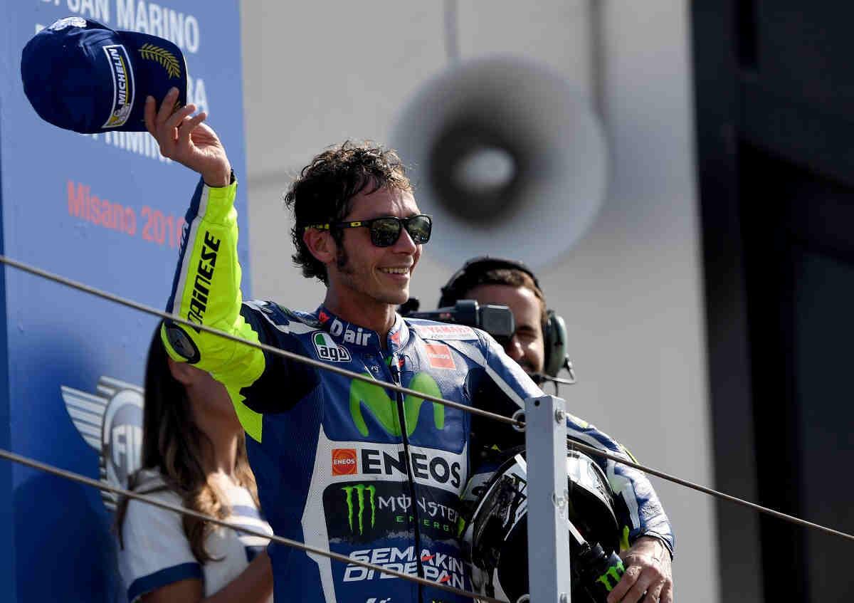 """Rossi: """"Quería ganar en Misano, delante de todos los aficionados"""""""