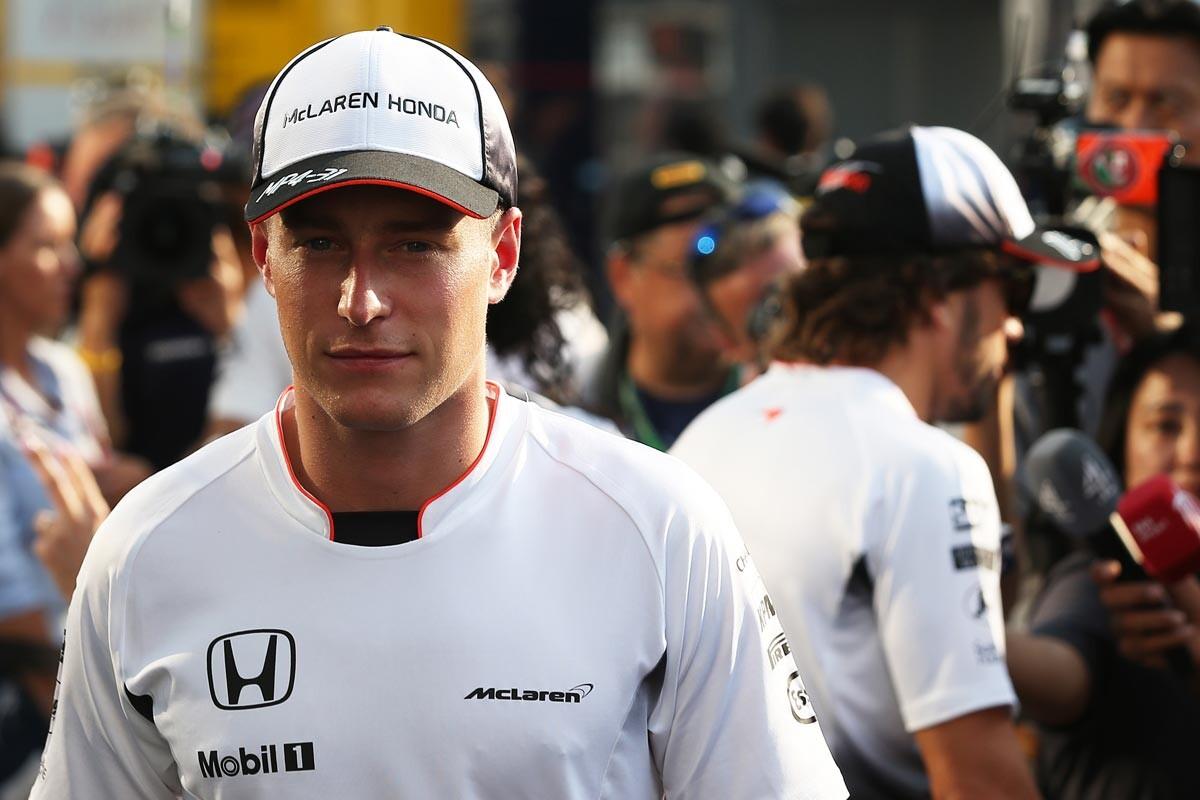 Stoffel Vandoorne, piloto McLaren en 2017