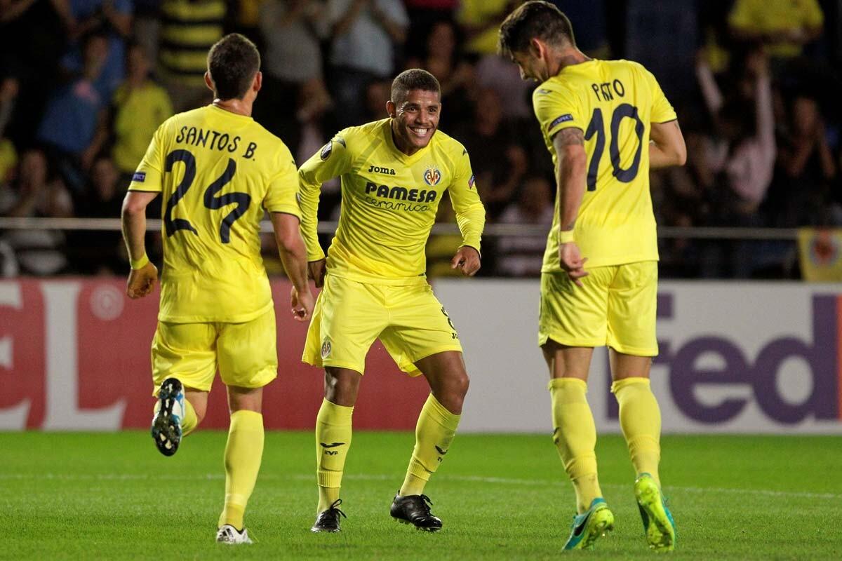 Jonathan Dos Santos con el Villarreal