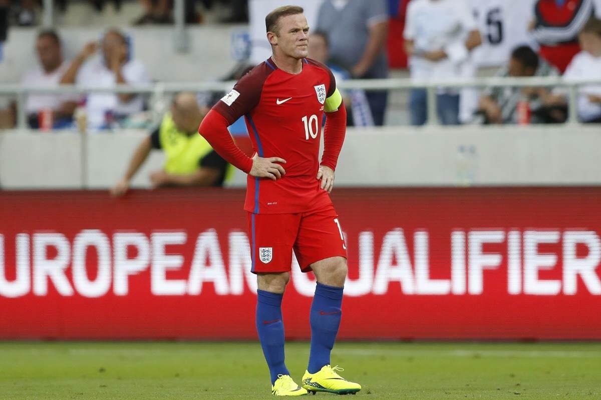 Wayne Rooney, delantero del Manchester United