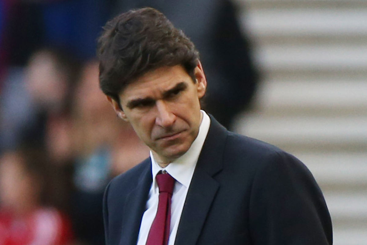 Aitor Karanka, técnico del Middlesbrough