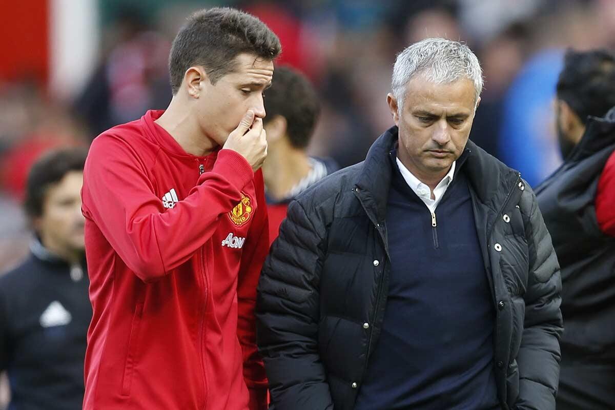 Ander Herrera, del Manchester United