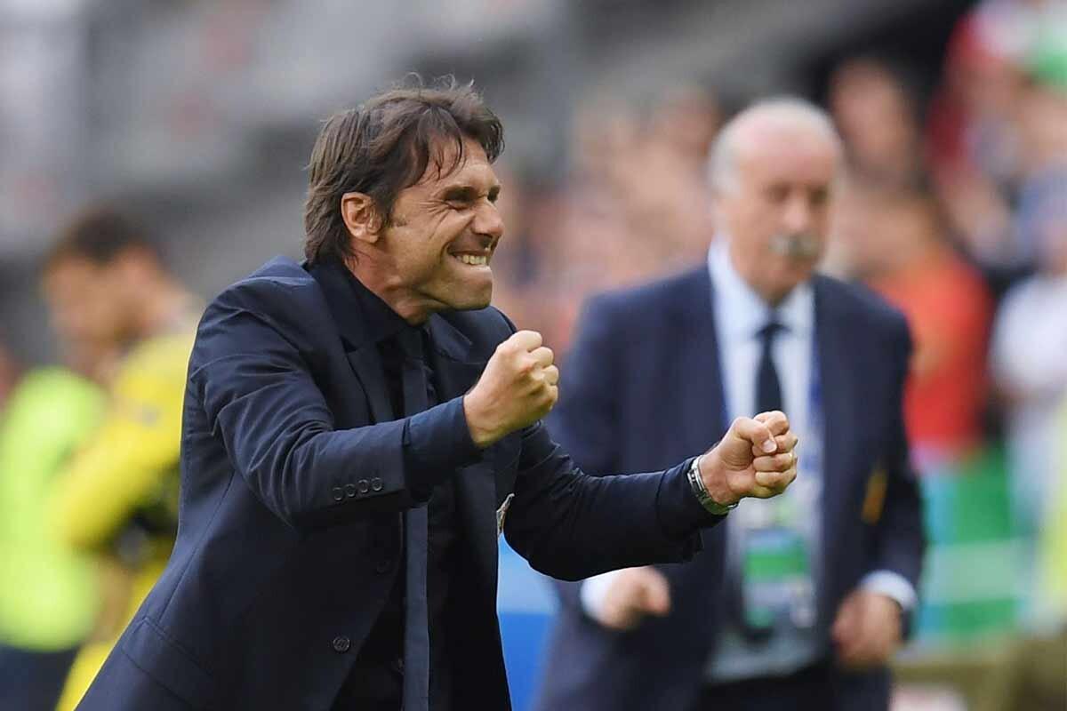 Antonio Conte, técnico del Chelsea