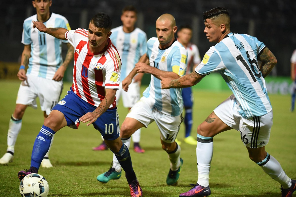 Argentina perdió de local ante Paraguay por la mínima diferencia