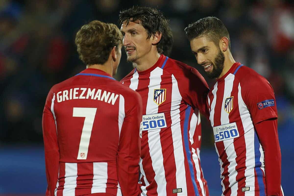 Griezmann, Carrasco y Savic