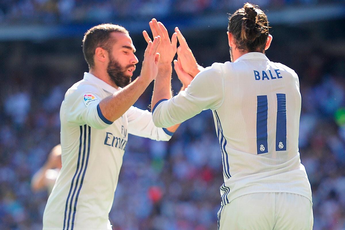 Dani Carvajal, Gareth Bale