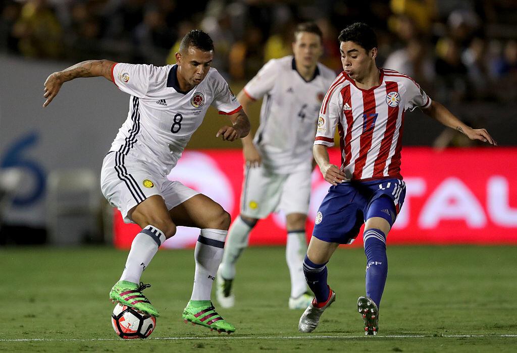 Cardona con Colombia ante Paraguay