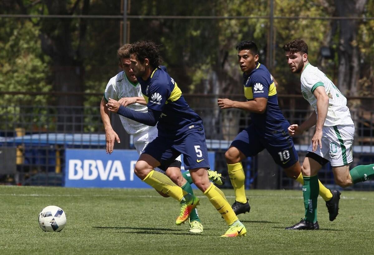 Gago volvió a jugar con Boca Juniors en la reserva