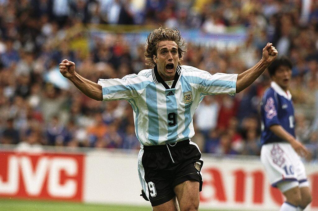 Batistuta es uno de los goleadores históricos de Argentina