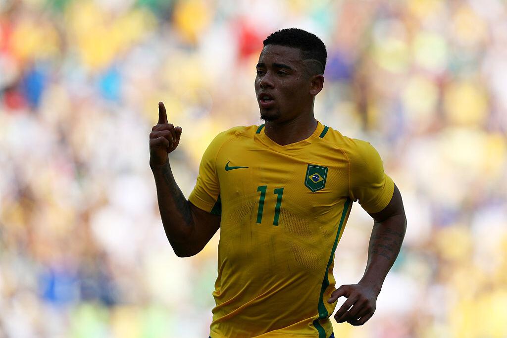 Gabriel Jesús anotó el primer gol ante Venezuela