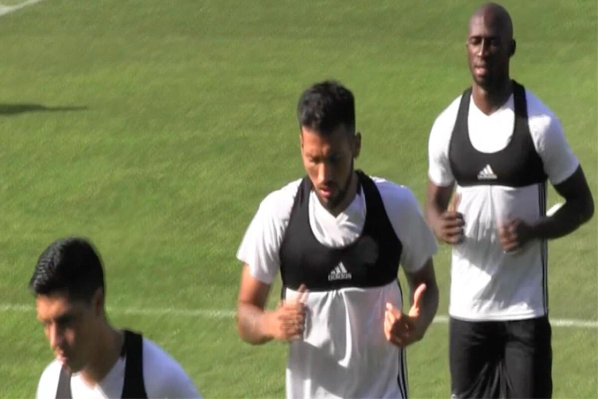 Ezequiel Garay y Eliaquim Mangala Valencia CF