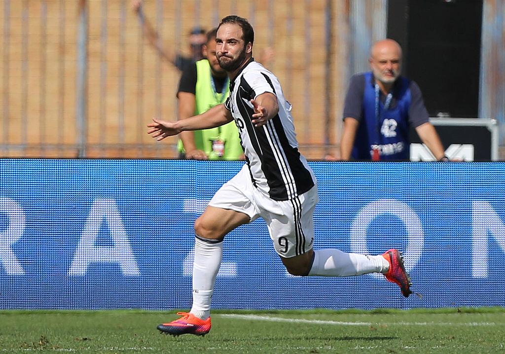 Higuaín es el delantero del momento en la Juventus