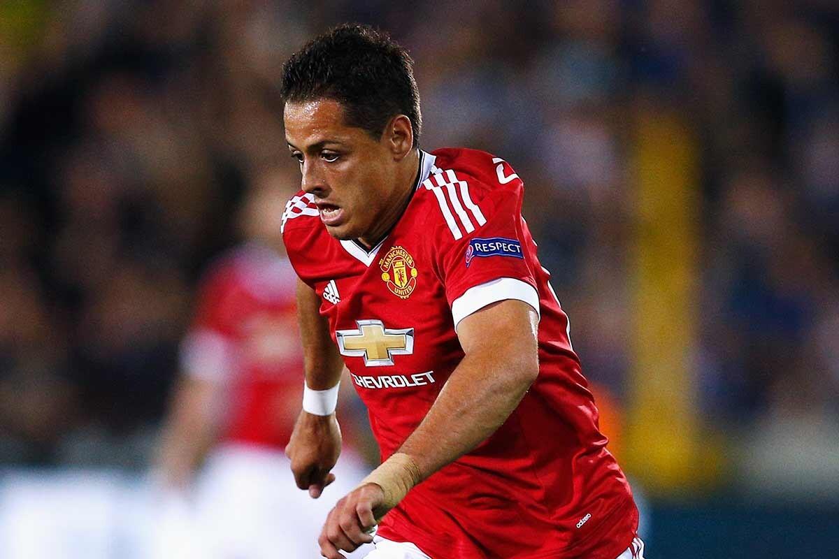 Javier Hernández, en su época del Manchester United
