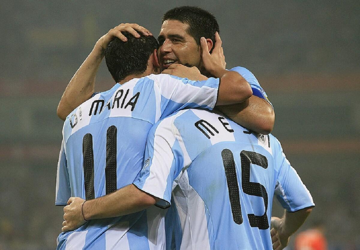 Riquelme en los Juegos Olímpicos con Argentina