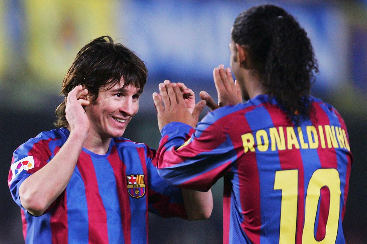 Leo Messi, Ronaldinho