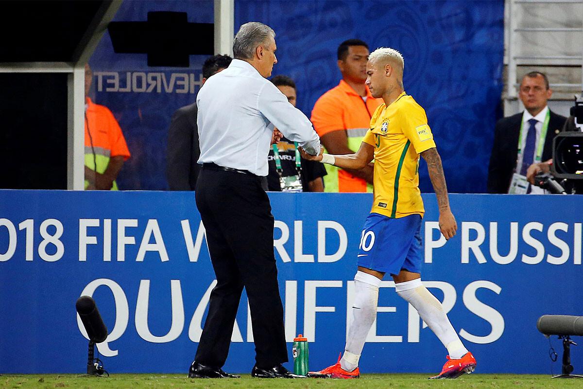 Neymar y Tite