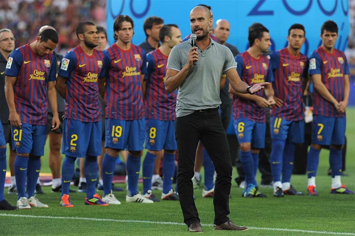 Pep Guardiola, tecnico del Manchester City