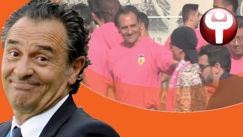 Cesare Prandelli Valencia CF
