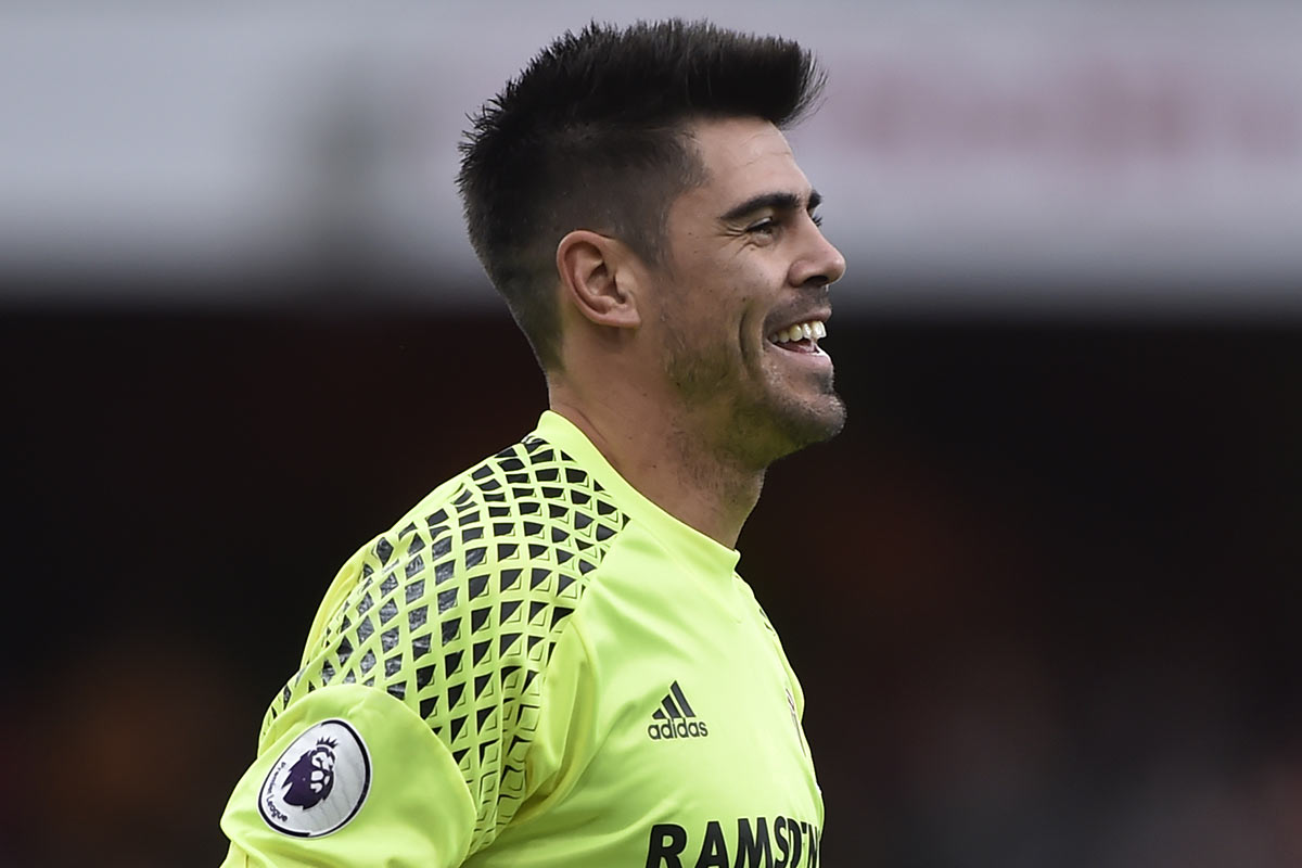 Victor Valdes, portero del Middlesbrough