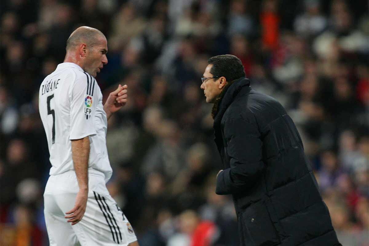 Vanderlei Luxemburgo, Zinedine Zidane