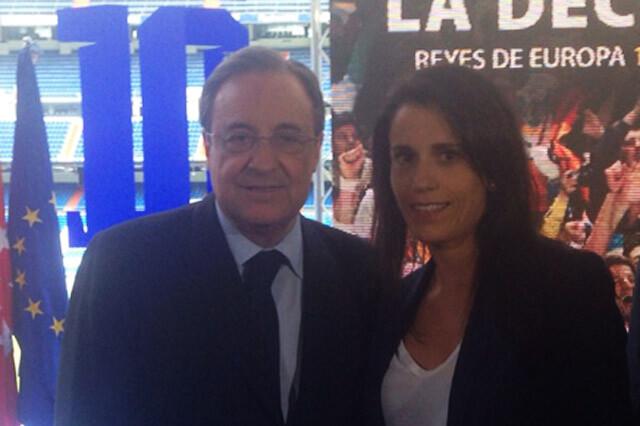 Ana Rosell y Florentino Pérez