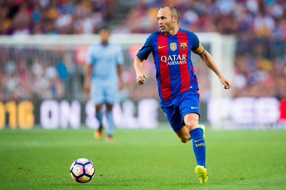 El Barça se encomienda a Iniesta