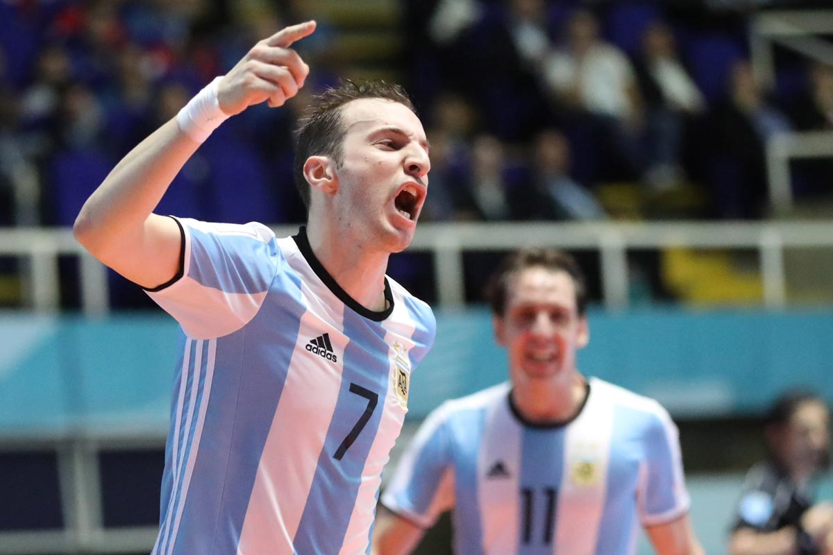 Argentina, campeona del mundo de fútbol sala
