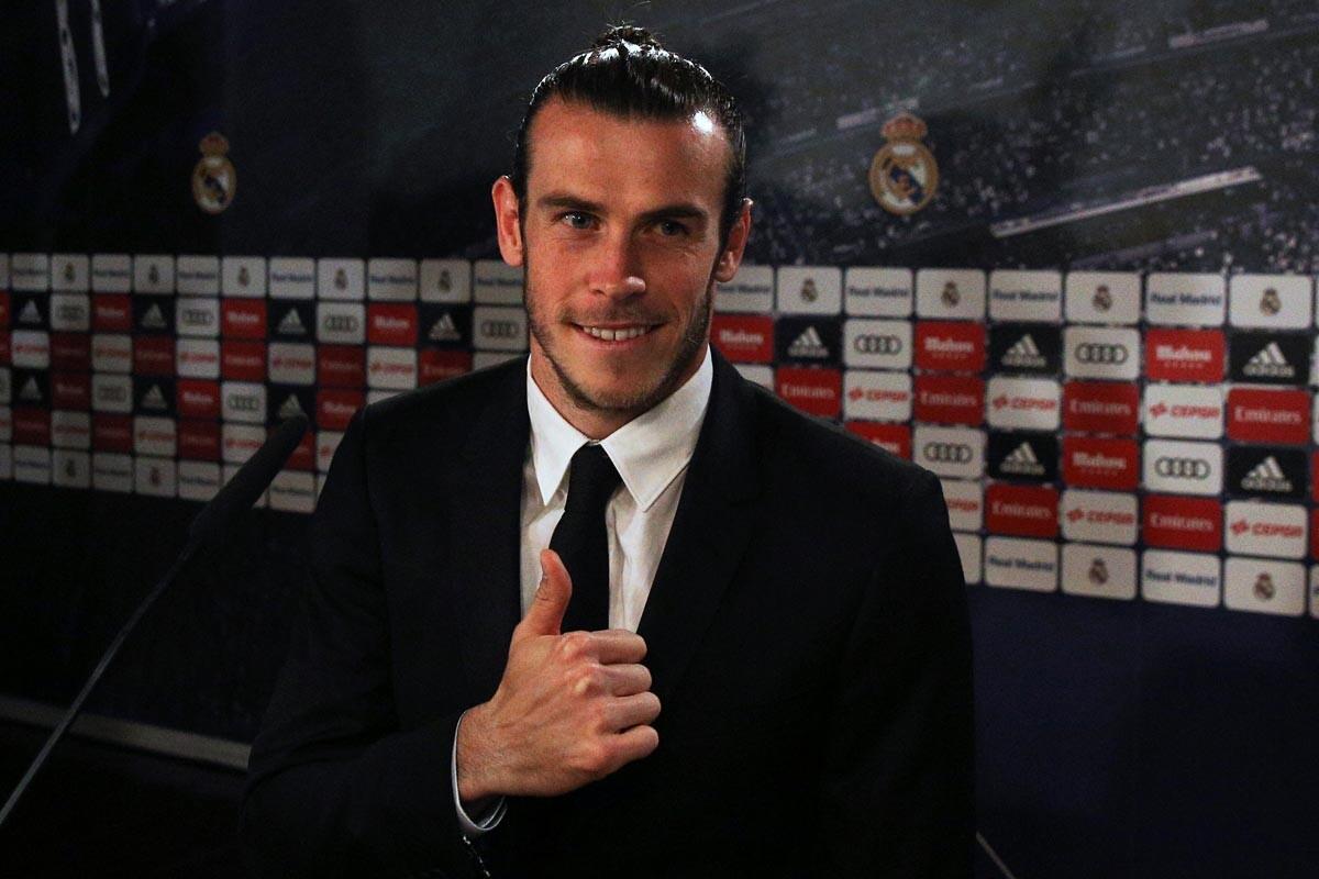 Gareth Bale en su renovación