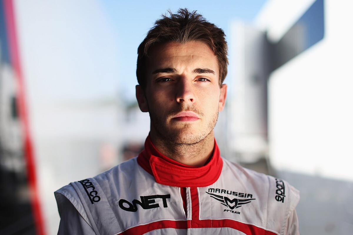 Jules Bianchi, piloto de Marussia