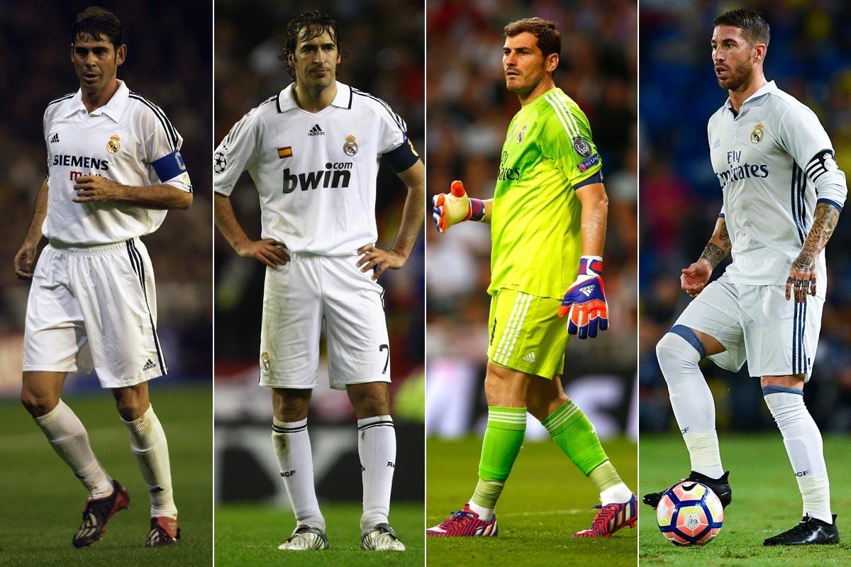 Hierro, Raúl, Casillas y Ramos