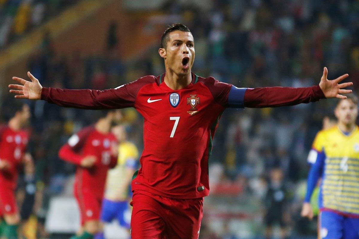 Cristiano Ronaldo ante Andorra