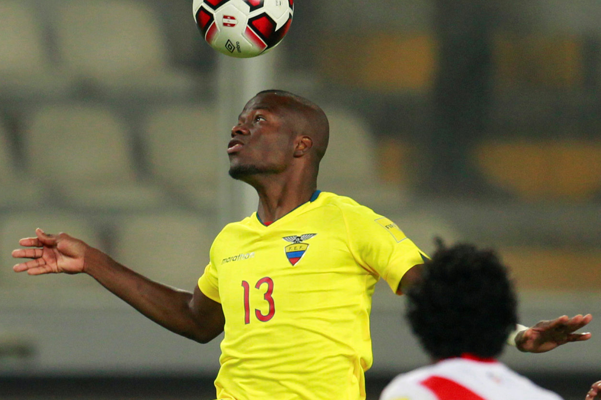 Enner Valencia, jugador de Ecuador