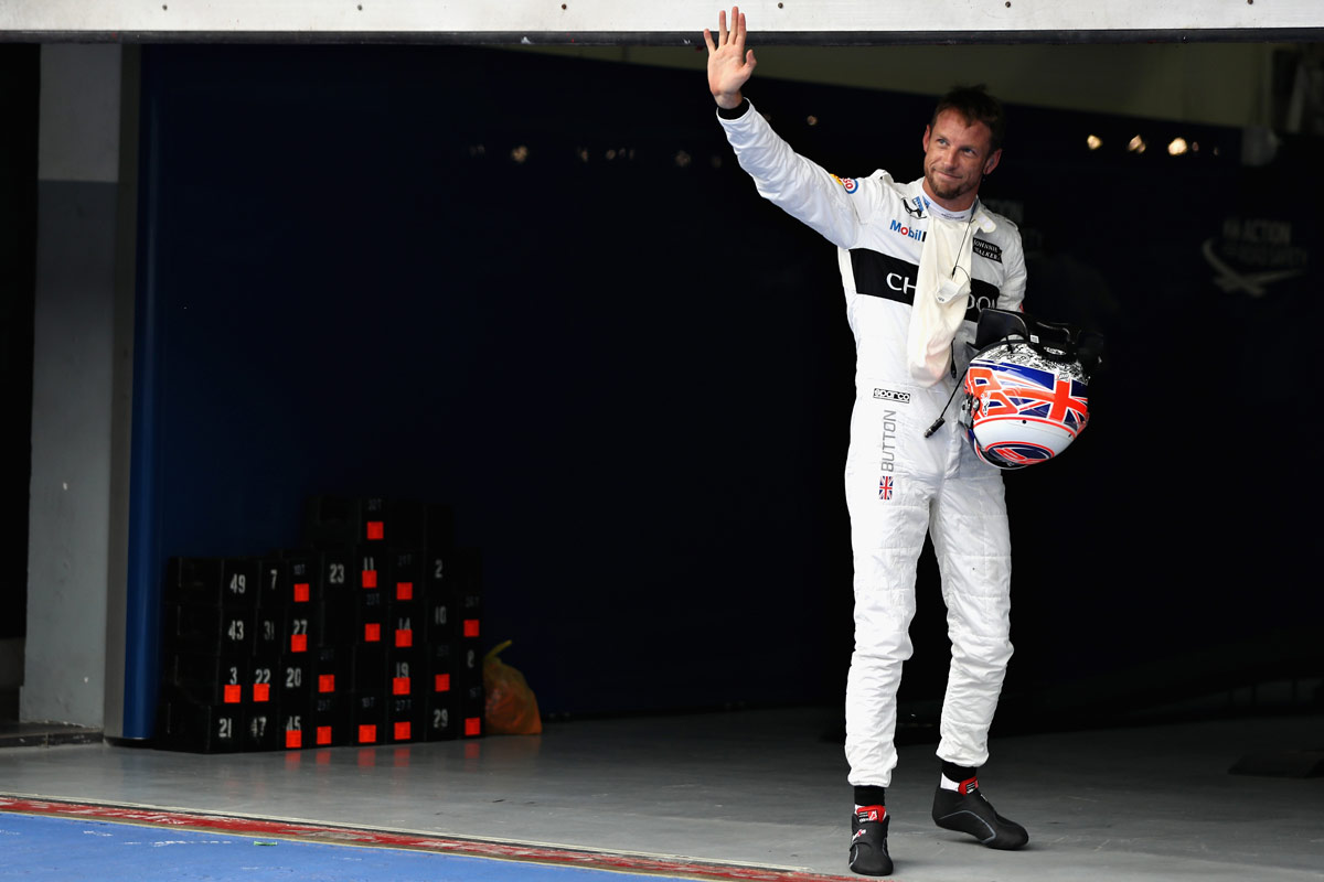 Jenson Button, en el GP de Malasia