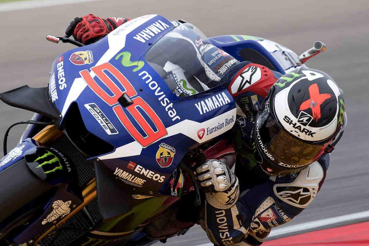 Lorenzo arrasa en la jornada del viernes en MotoGP