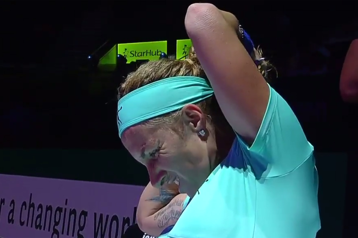 Svetlana Kuznetsova en la WTA Finals