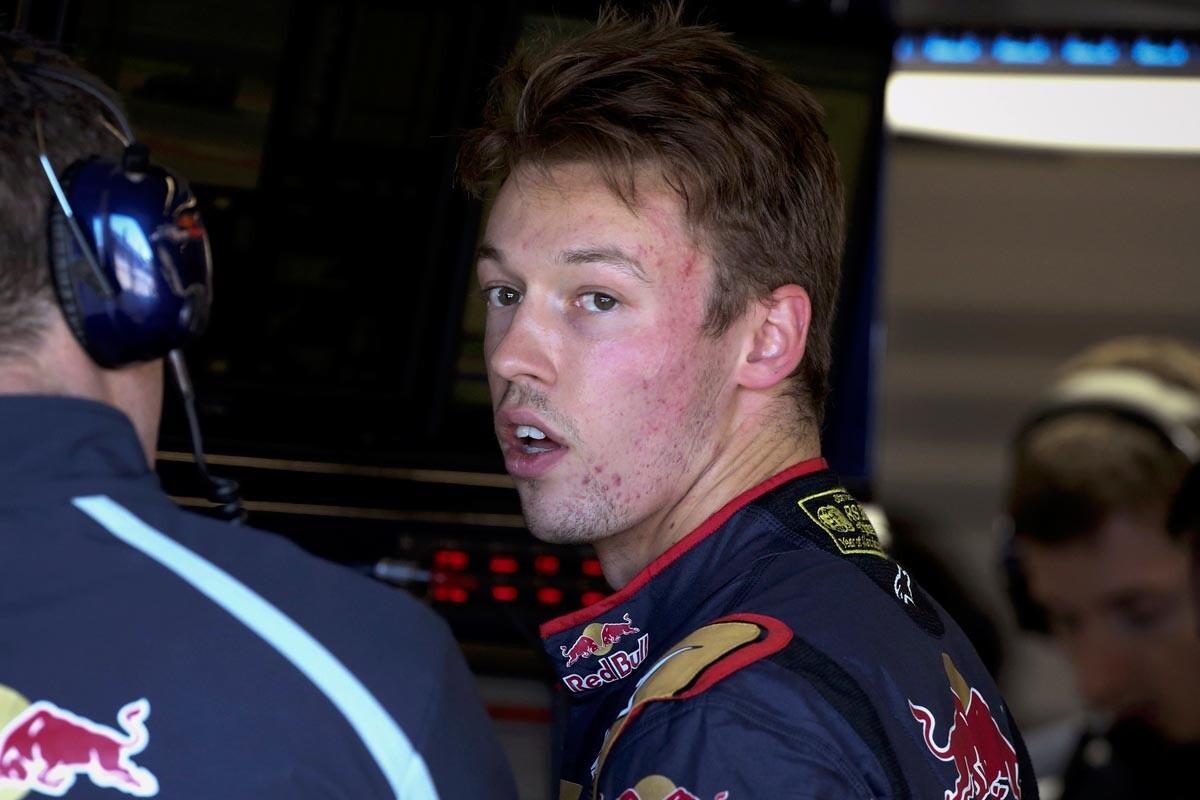 Daniil Kvyat seguriá en Toro Rosso