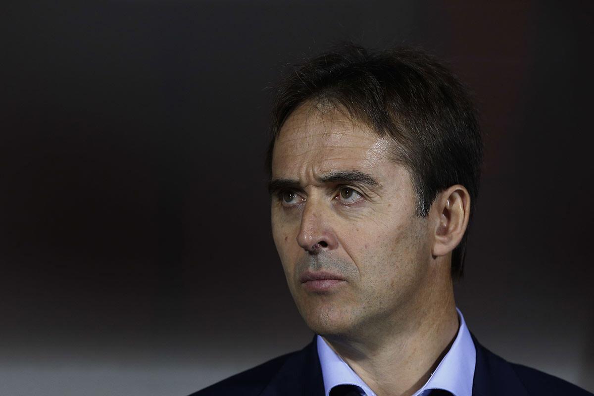 Julen Lopetegui, entrenador de España