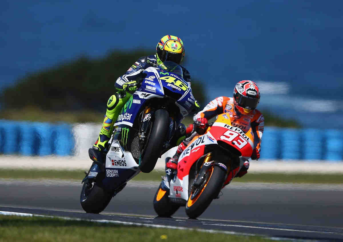 Márquez se suma al homenaje de Rossi a Simoncellise suma al homenaje de Rossi a Simonccelli
