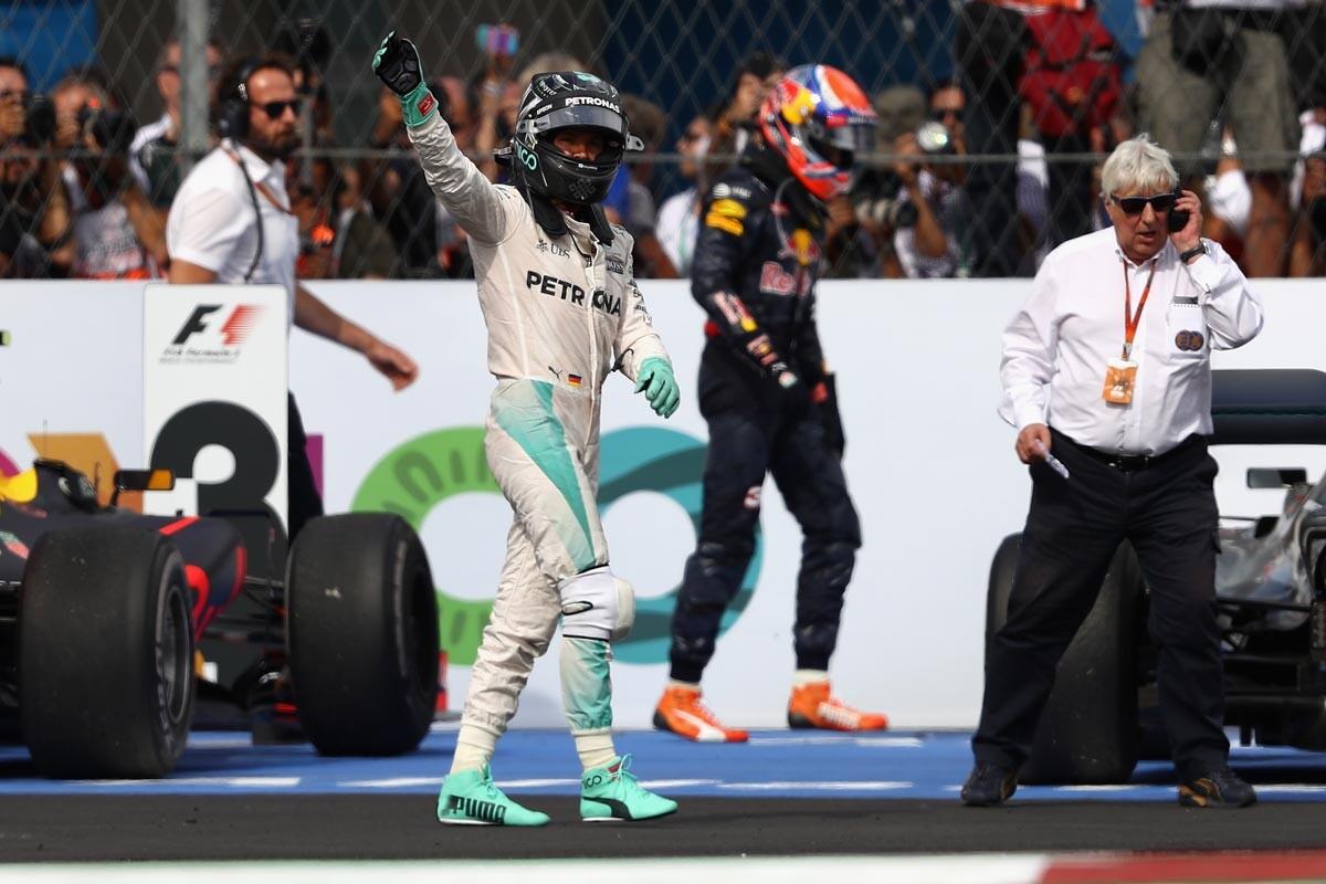 Nico Rosberg en México